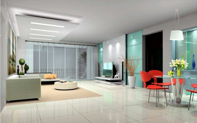 Salon futuriste