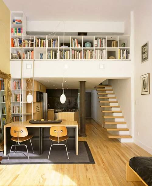 Optimiser un espace limit en installant une mezzanine - Escalier pour mezzanine ...
