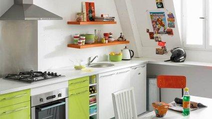 osez les couleurs dans votre cuisine. Black Bedroom Furniture Sets. Home Design Ideas