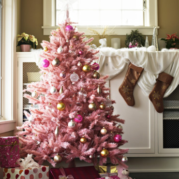 Comment r ussir la d coration de son sapin de no l for Decoration de noel rose