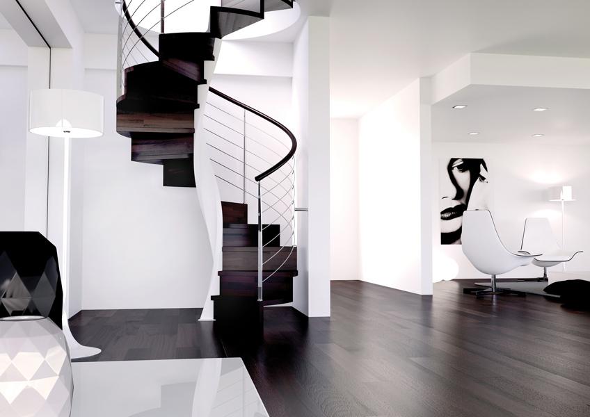 Escalier en colimaçon la nouvelle tendance