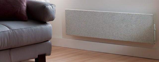 radiateur électrique à inertie en granit