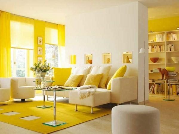 Pourquoi opter pour un salon jaune ?