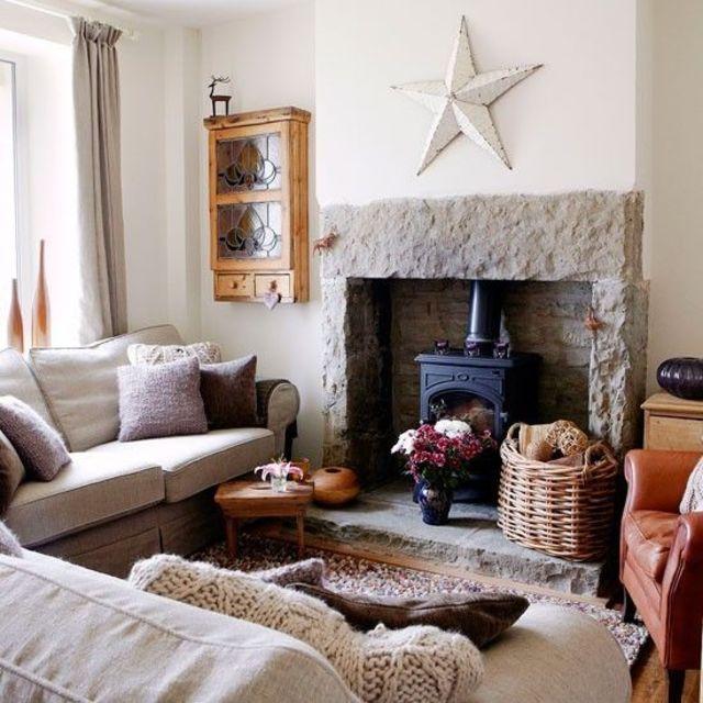 Living Room Decorating Design Country Living Room Ideas: Aménager Un Salon Douillet Pour L'hiver