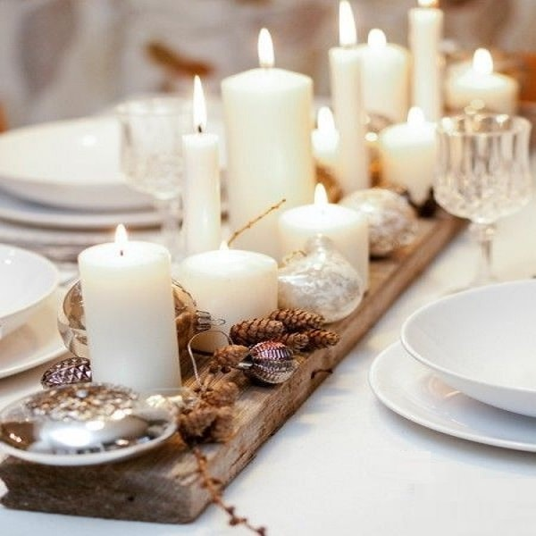 centre-de-table-bois-avec-bougies-comme-deco-noel