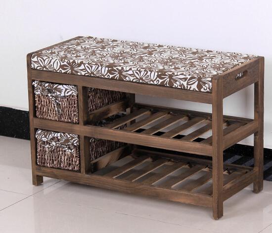 étagère à chaussures en bois