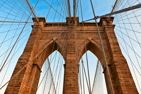 Tableau design Pont de Brooklyn
