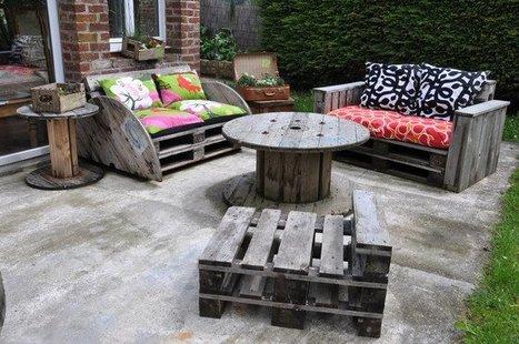 La tendance des palettes en bois fait des remous dans la - Ou trouver des palettes en bois ...
