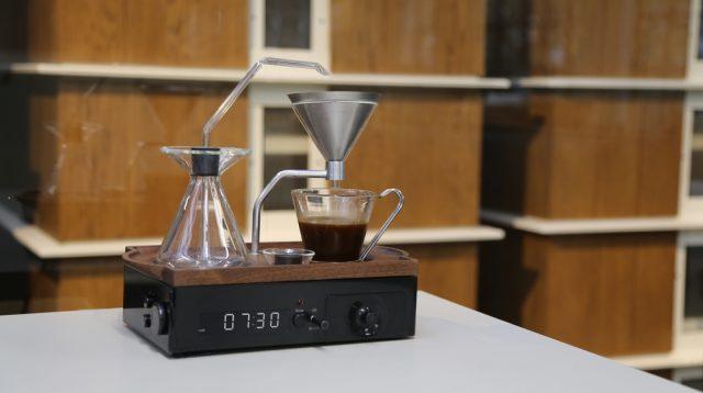 Le réveil matin qui vous fait le café