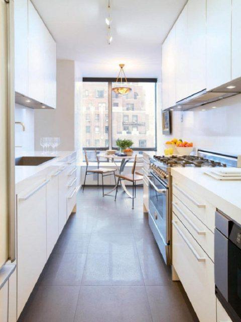 Comment aménager une cuisine étroite