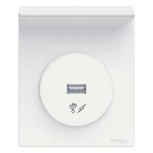 prise USB intégrée par Schneider Electric Odace Styl Pratic