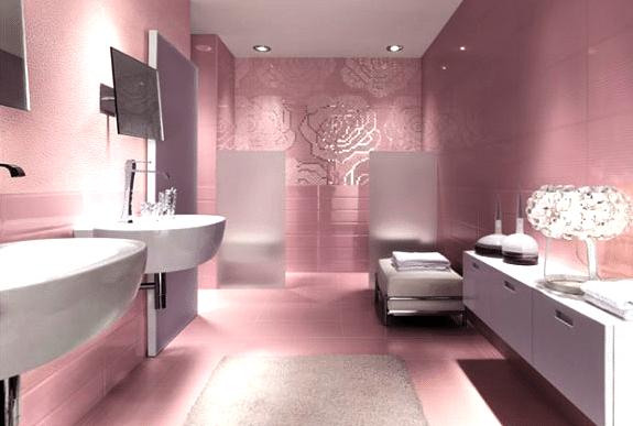 salle de bain auto éclairée grâce à Schneider Electric