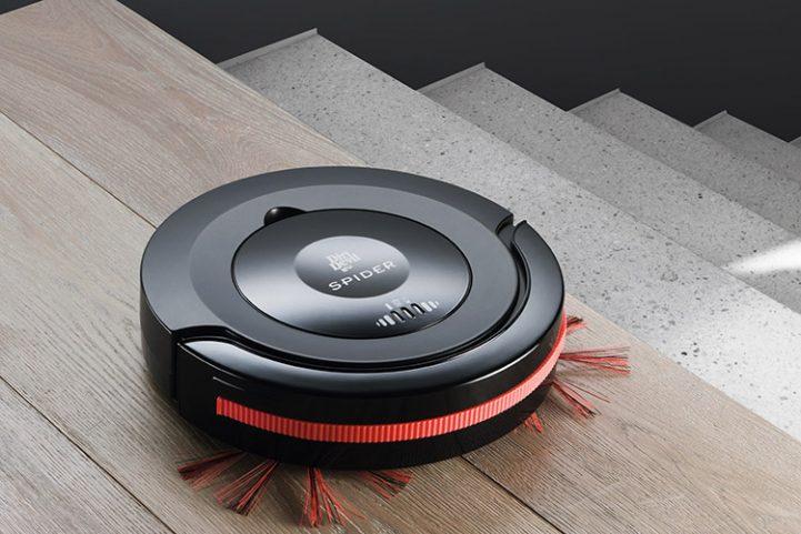 robot aspirateur laveur spider