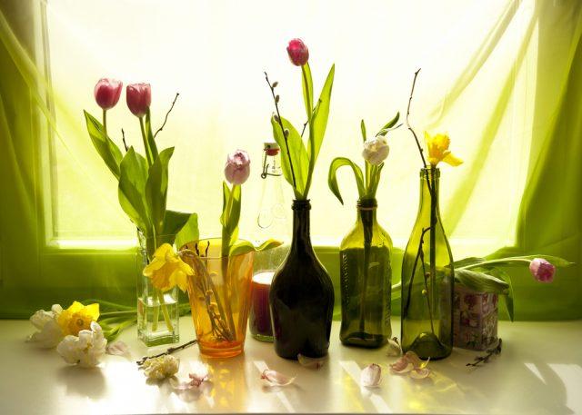 fleurs-vase