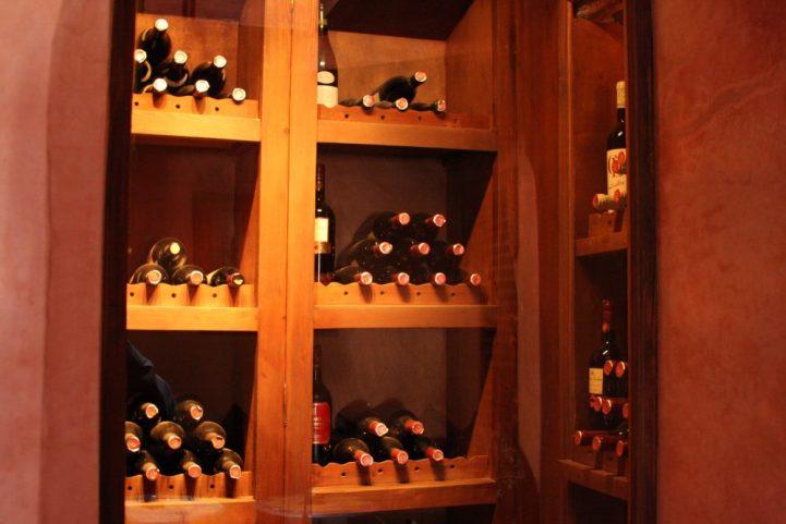 Belle cave à vins