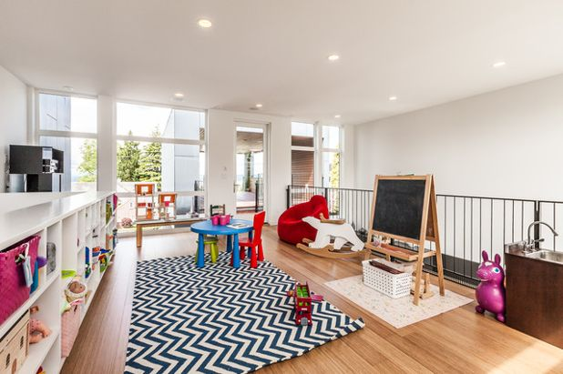 Créer une salle de jeux dans le salon