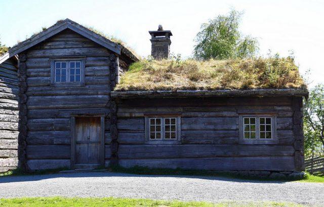 maison traditionnelle norvégienne