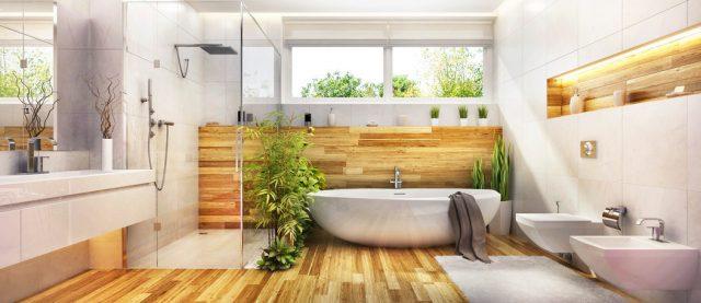Les composants de la salle de bain