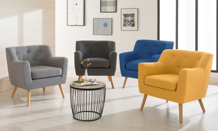 Fauteuil scandinave Charles