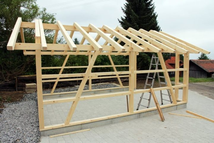 autocontruction-garage-bois