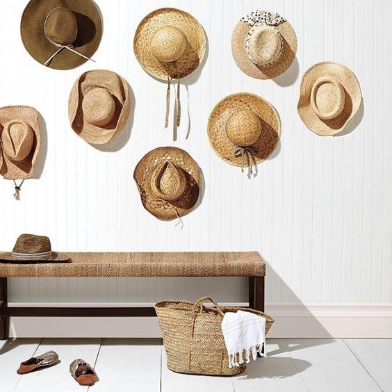 collection chapeau mur