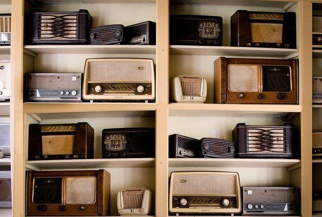 collection radio vintage