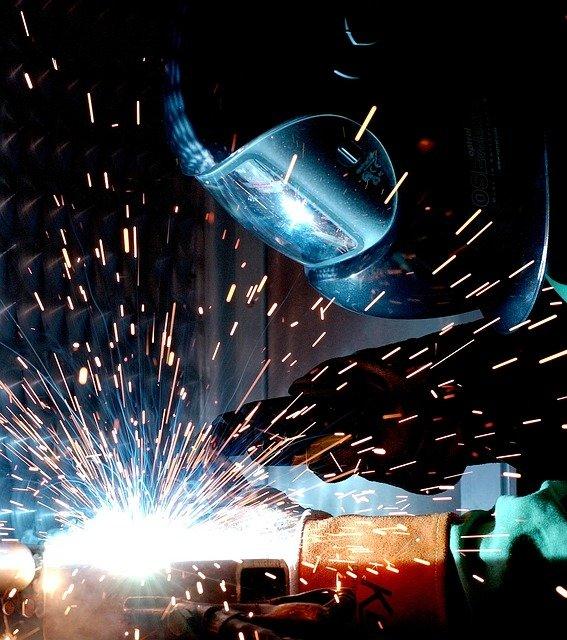 travail metal soudure